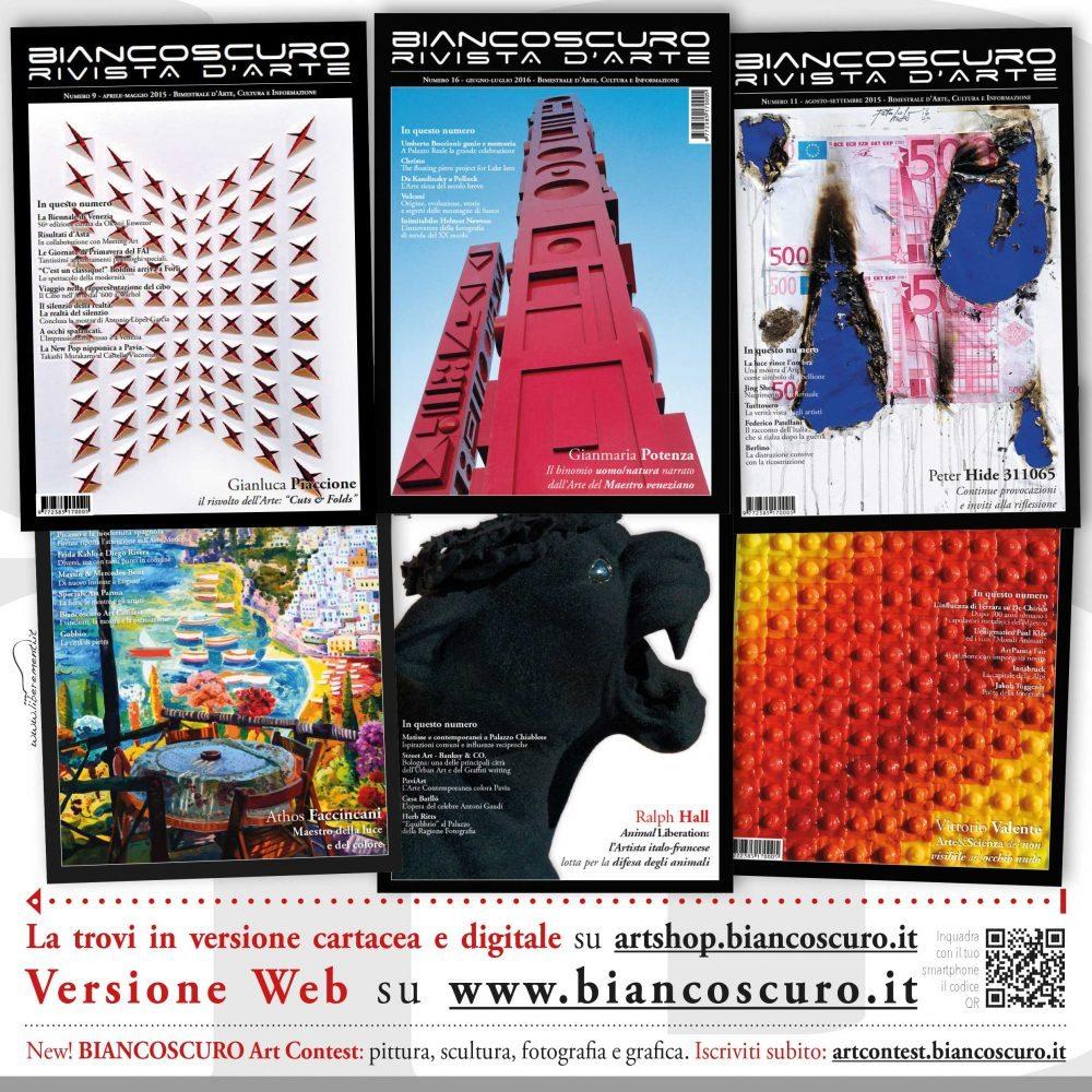 Conosciuto Abbonamento Biancoscuro Rivista d'Arte (formato cartaceo) Italia  JH06