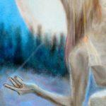 Margaretha Gubernale - PARTICOLAR - Yin and Yang 100 cm x 100 cm oil on canvas 2017