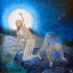 Margaretha Gubernale - PARTICOLAR Yin and Yang 100 cm x 100 cm oil on canvas 2017