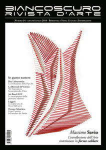 La copertina di Savio su BIANCOSCURO Art Magazine n.34