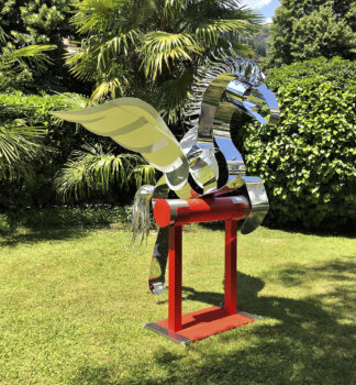 Chelita Zuckermann e le sue SCULTURE METALLICHE IN MOVIMENTO - BOLZANO